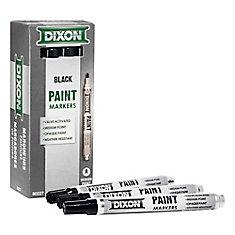 Paint Marker - Valve Action - Medium Tip - Black