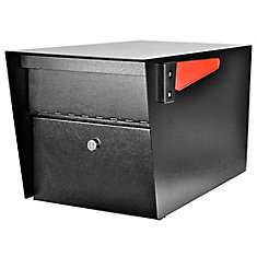 Mail Manager High Security Locking Mailbox, Black