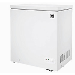 RCA 5.1 cu. ft. Compact Chest Freezer - White