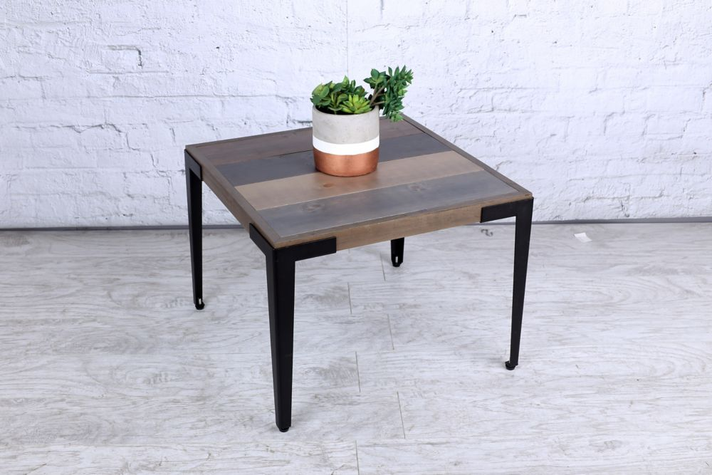 22 Inch X 19 Wood Side Table