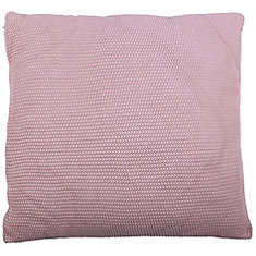 28-inch x 28-inch Maroon Moss Stitch Floor Pillow