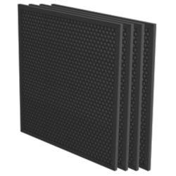 Aeramax Pro - 3/8 po filtre à charbon actif avec pré-filtre - 4/paq