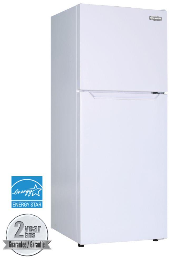 Marathon 10.1 cu.ft. White Frost Free Refrigerator - ENERGY STAR®