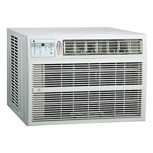 Climatiseur de fenêtre de 25 000 BTU avec chauffage électrique