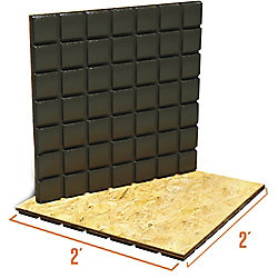 Amdry Amdry 3/4-inch x 24-inch x 24-inch Heavy Duty Low Profile Subfloor Panel (Non Insulated)