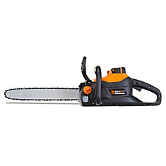 40-Volt Max Lithium Ion 16 inch Brushless Chainsaw with 4Ah Battery and Charger