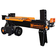 6 5-Ton Electric Log Splitter with Stand