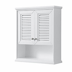 Tamara Wall-Mounted Storage Cabinet in White