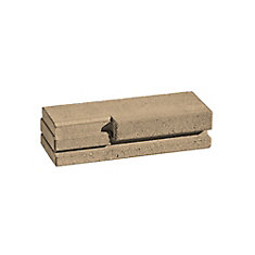 Skyline Garden Wall Block in Habano Brown