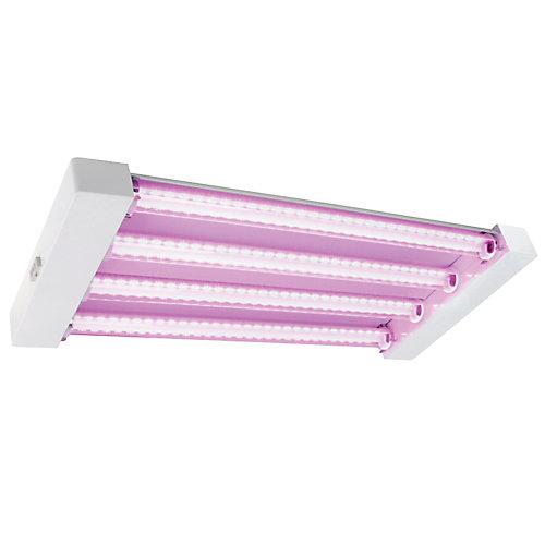 Lampe de culture hydroponique Quad, 60 W, 2 pi, Par 68