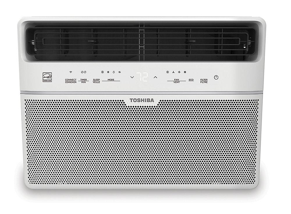 8,000 BTU 115V Smart Window Air Conditioner with Remote (ENERGY STAR)