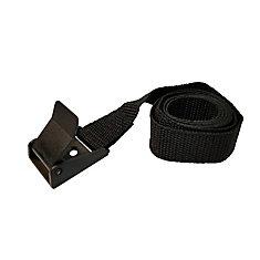 1 inch x 72 inch light-duty utility webbing strap with cam-lock buckle