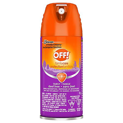 Aérosol répulsif pour la famille 8 - Sans danger pour les insectes