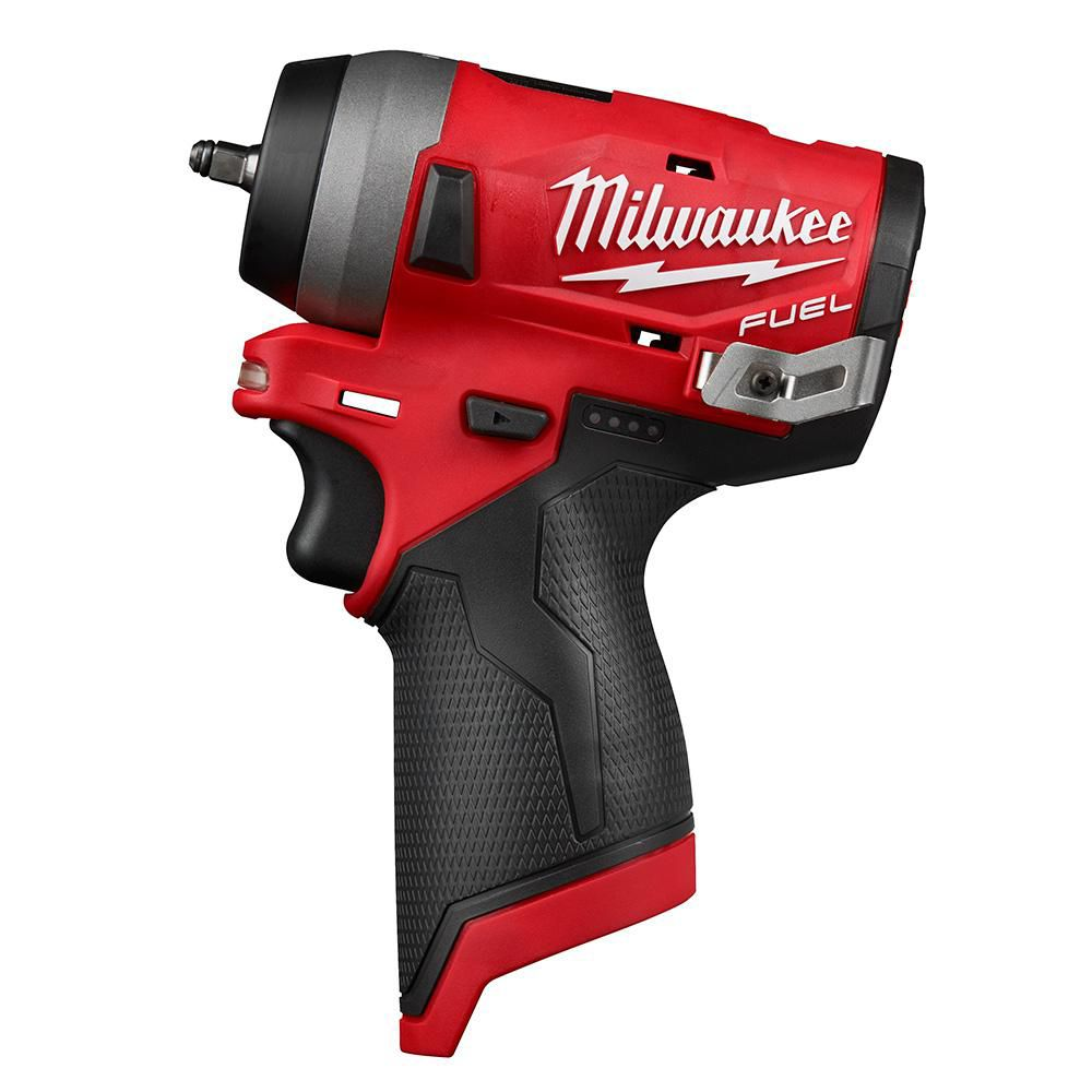 M12 FUEL 12V Lithium-Ion Brushless Cordless Stubby 1/4-inch Impact Wrench (Tool-Only)
