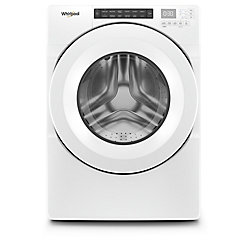 Whirlpool 5.0 cu. ft. Front Load Washer in White, Closet-Depth - ENERGY STAR®