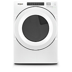 7.4 cu. ft. Front Load Electric Dryer in White, Closet-Depth - ENERGY STAR®