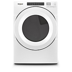 7.4 cu. ft. Front Load Gas Dryer in White, Closet-Depth - ENERGY STAR®