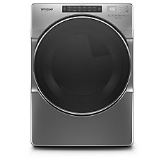 7.4 cu. ft. Front Load Electric Dryer with Steam in Chrome Shadow - ENERGY STAR®