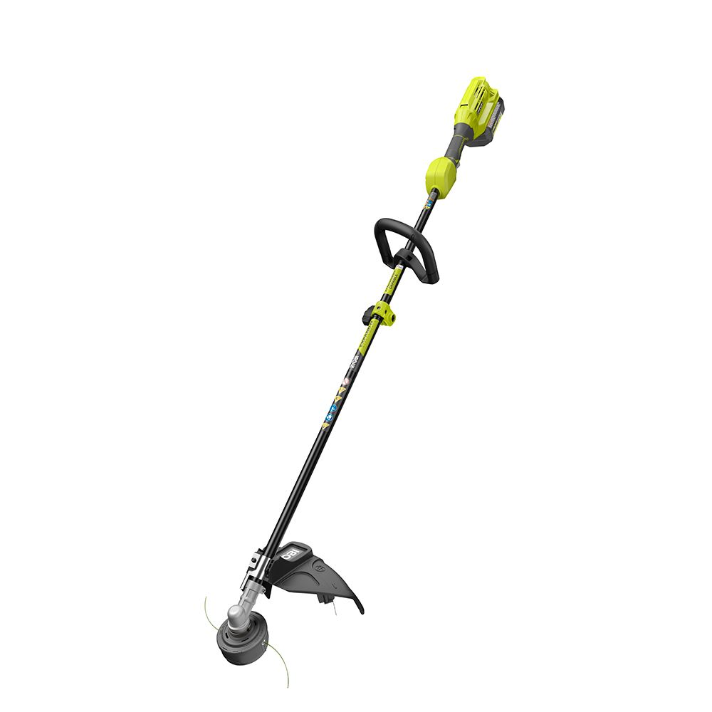 RYOBI 40V 15-inch EXPAND-IT String Trimmer Kit with 4AH Battery & Charger RY40250CAN