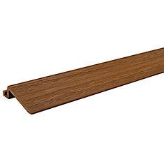 2 Ft. - Transition Strip for Deck and Balcony Tile - Honey Teak - (4-Pack)