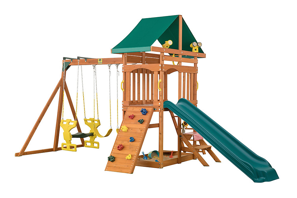 Sky View Wooden Playset