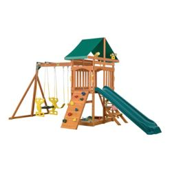 Creative Cedar Designs Sky View Wooden Playset