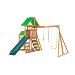 Creative Cedar Designs Woodlands Complete Wooden Playset