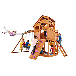 Creative Cedar Designs Timber Valley Wooden Playset- Pink Accessories