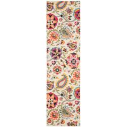 Safavieh Monaco Barbara Ivory / Multi 2 ft. 2-inch x 6 ft. Indoor Runner