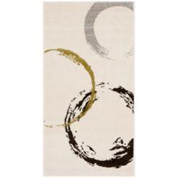 Safavieh Porcello Gambit Ivory / Green 2 ft. 4-inch x 6 ft. 7-inch Indoor Runner