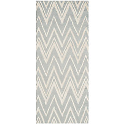 Safavieh Cambridge Chenny Grey / Ivory 2 ft. 6-inch x 6 ft. Indoor Runner