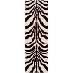 Safavieh Cambridge Dae Ivory / Brown 2 ft. 6-inch x 8 ft. Indoor Runner