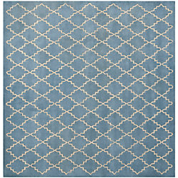 Safavieh Chatham Adam Blue Grey 5 ft. x 5 ft. Indoor Square Area Rug