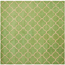 Safavieh Chatham Juliet Green 5 ft. x 5 ft. Indoor Square Area Rug