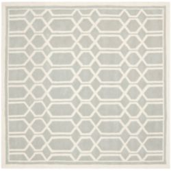 Safavieh Chatham Roy Grey / Ivory 5 ft. x 5 ft. Indoor Square Area Rug