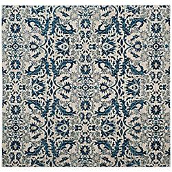 Safavieh Evoke Tobias Ivory / Blue 6 ft. 7-inch x 6 ft. 7-inch Indoor Square Area Rug