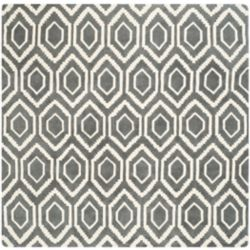 Safavieh Chatham Beau Dark Grey / Ivory 7 ft. x 7 ft. Indoor Square Area Rug