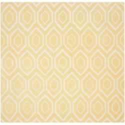 Safavieh Chatham Beau Light Gold / Ivory 7 ft. x 7 ft. Indoor Square Area Rug