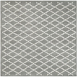Safavieh Chatham Philip Dark Grey / Ivory 7 ft. x 7 ft. Indoor Square Area Rug