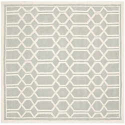 Safavieh Chatham Roy Grey / Ivory 7 ft. x 7 ft. Indoor Square Area Rug