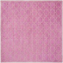Safavieh Chatham Vin Pink 7 ft. x 7 ft. Indoor Square Area Rug