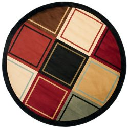 Safavieh Porcello Carolyn Multi 5 ft. x 5 ft. Indoor Round Area Rug