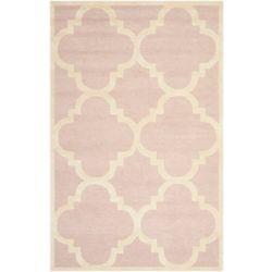 Safavieh Cambridge Amias Light Pink / Ivory 5 ft. x 8 ft. Indoor Area Rug