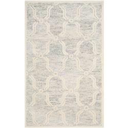 Safavieh Cambridge Dominic Light Grey / Ivory 5 ft. x 8 ft. Indoor Area Rug