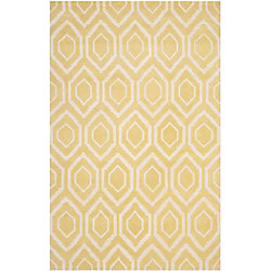 Safavieh Chatham Beau Light Gold / Ivory 5 ft. x 8 ft. Indoor Area Rug