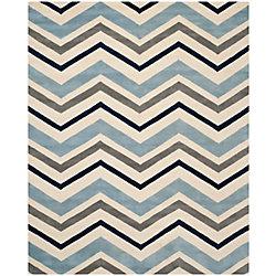 Safavieh Chatham Kaylie Ivory / Dark Grey 5 ft. x 8 ft. Indoor Area Rug