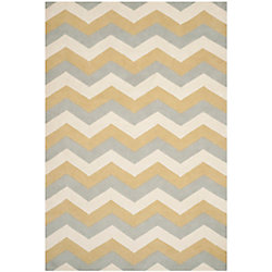 Safavieh Chatham Lara Grey / Gold 5 ft. x 8 ft. Indoor Area Rug