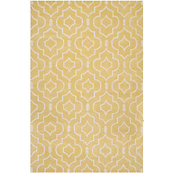 Safavieh Chatham Romain Light Gold / Ivory 5 ft. x 8 ft. Indoor Area Rug