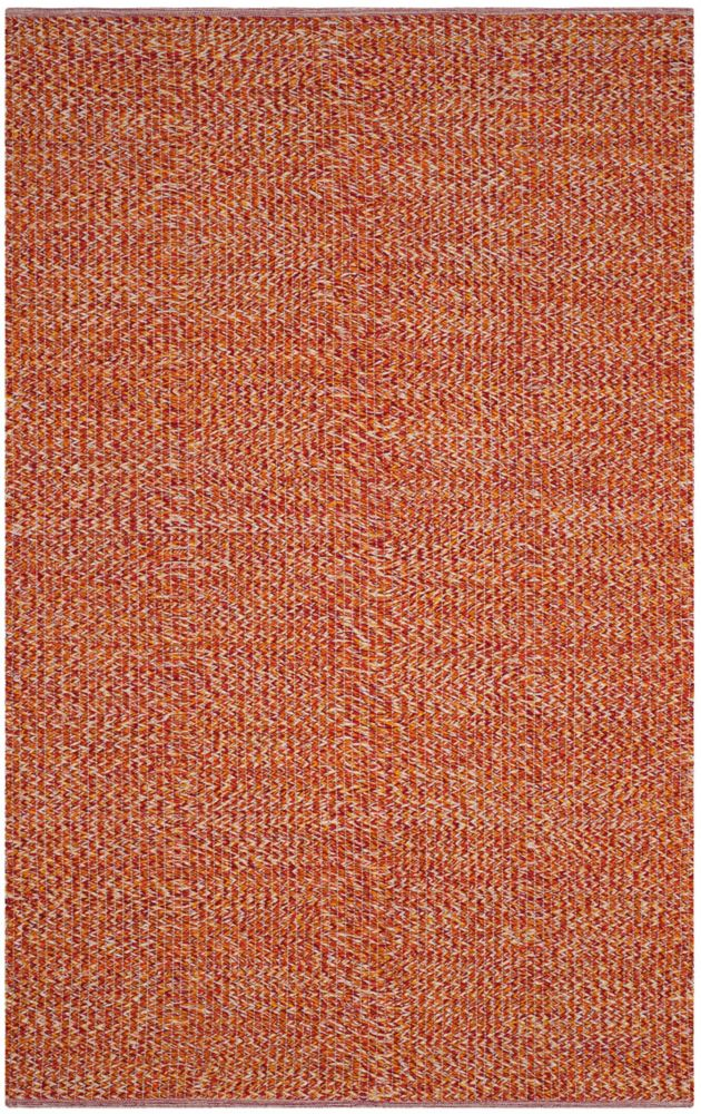 Safavieh Montauk Phoebe Orange / Multi 5 ft. x 8 ft. Indoor Area Rug