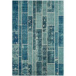 Safavieh Monaco Vivian Blue / Multi 6 ft. 7-inch x 9 ft. 2-inch Indoor Area Rug